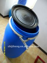 135L opne mouth plastic bucket for food storage