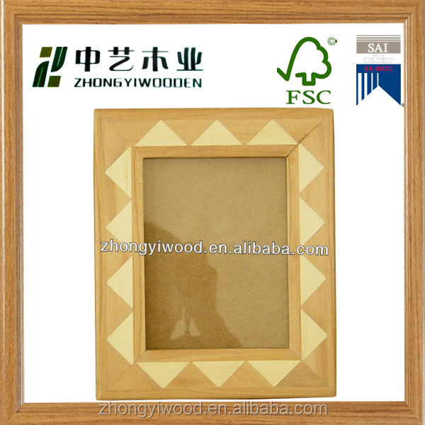 Hot sale Chinese supplier FSC photo frames hanging antique picture photo frame xmas picture frame