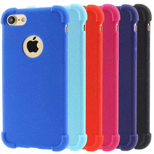 New Air Cushion Anti Knock Shockproof Soft Silicone Bumper Phone Cover Case For iPhone 7
