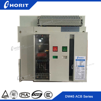 Intelligent Air Circuit Breaker ACBs DW45 Fixed Type Air Circuit Breaker 5000A 6300A Automatic