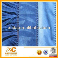 100% cotton twill denim fabric construction mercerizing finish