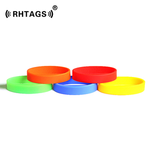 Silicone Rfid Wristband for Access control Manufacturers Wholesale Price LF/HF/UHF