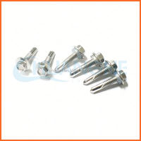Factory price roofing screw nail with colorful head
