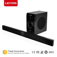 Unique Model 2.1CH TV sound bar with wired/wireless subwoofer