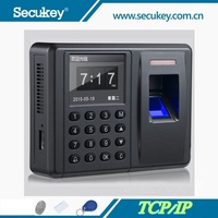 TCP/IP, 500DPI, TFT Fingerprint Access Control Fingerprint Time Attendance