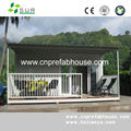 fashionable design high quality prefabricated townhouses