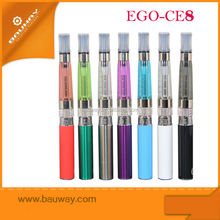 EGO CE8 Distribute blister pack ego kit 650mah electronic cigarette with best quality