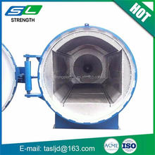 High pressure manual control steam sterilizer glass carbon fiber autoclave