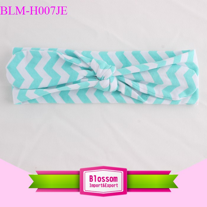 Hot sale girls cotton sport headband wholesale blank baby headband girls