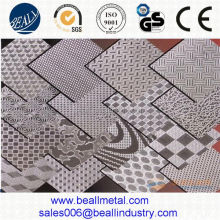 Embossed 0.2mm thick stainless steel sheet scrap grade 304 316