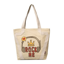 Promotional Trendy Cheap Cute Calico Tote Custom Printed Cotton Bags