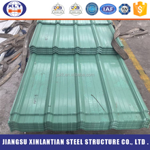 Factory price zincalume metal roofing sheets colour wave steel plate