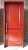 Red Cherry 2 Panel Solid Core Apartment Room Entry Door for Saudi Arabia