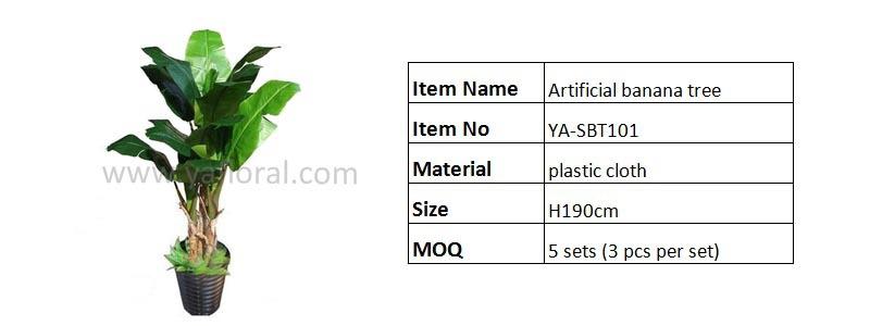 Yafloral offre sp ciale en plastique tissu arbre for Arbres en plastique artificiels