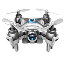 New Arrived!Cheerson 2.4G 4CH 6 Axis CX-10W Mini RC Quadcopter micro drone with wifi fpv camera