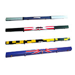 POOL SNOOKER CUE PUSH ON TIPS 11mm VARIOUS AMOUNTS * WHITE CAP LEATHER TIPS