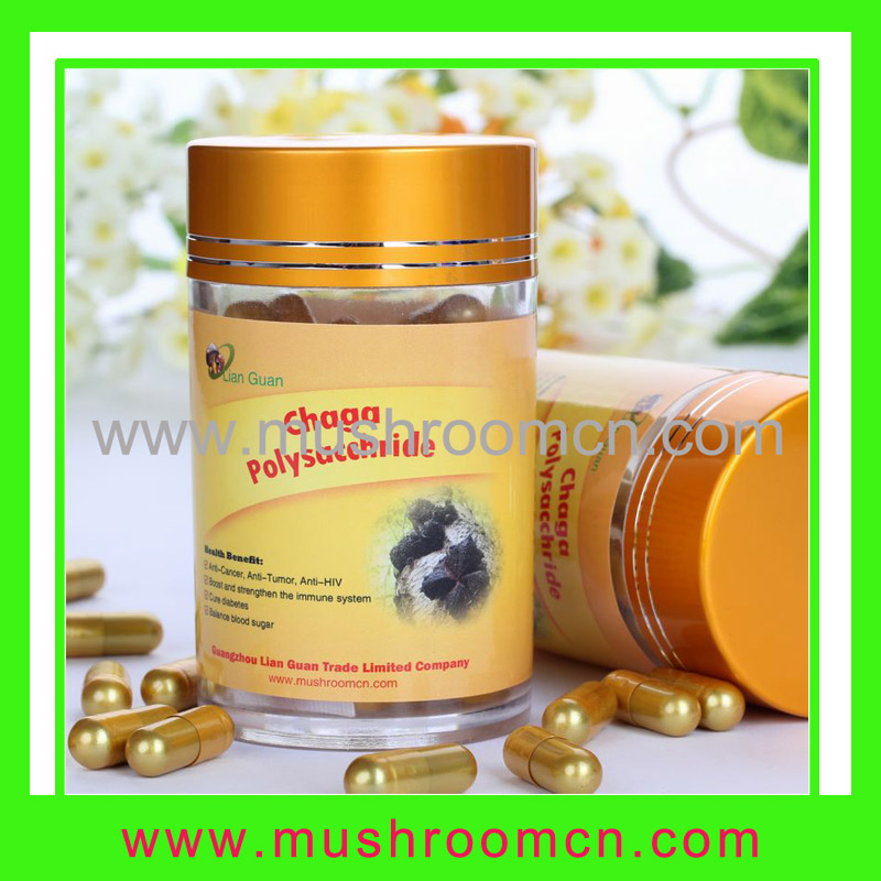 Chaga Polysaccharide capsule nature's perfect food