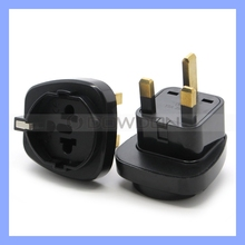 Newest International UK Plug Adapter for AUS UK EU US British Style Socket Universal World Travel UK Plug