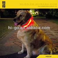 Colorful safety led collar for pets