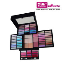 2015 Chinese cosmetics manufacturer 74 colors ads makeup sets kits boxed cosmetics