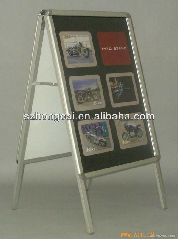 double sde a board for display stand