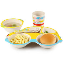 Sell 5PC Melamine Dinnerware Set lead free cadmium free dinnerware