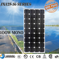 Cheapest Price 25 Years Warranty mono 100w panel solar With Ce,Tuv Certificate And Best Service