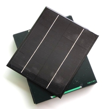 BUHESHUI High Quality 6W 12V Monocrystalline Small Solar Panel DIY Solar Charger/Small Solar System Education Kits 200*170MM