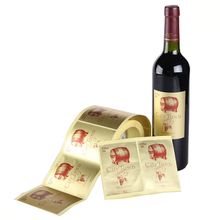 peel off wine labels for glass bottles