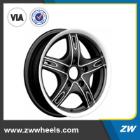 ZW-P471 Polished Black Alloy Wheels TUV for SUV 4x4