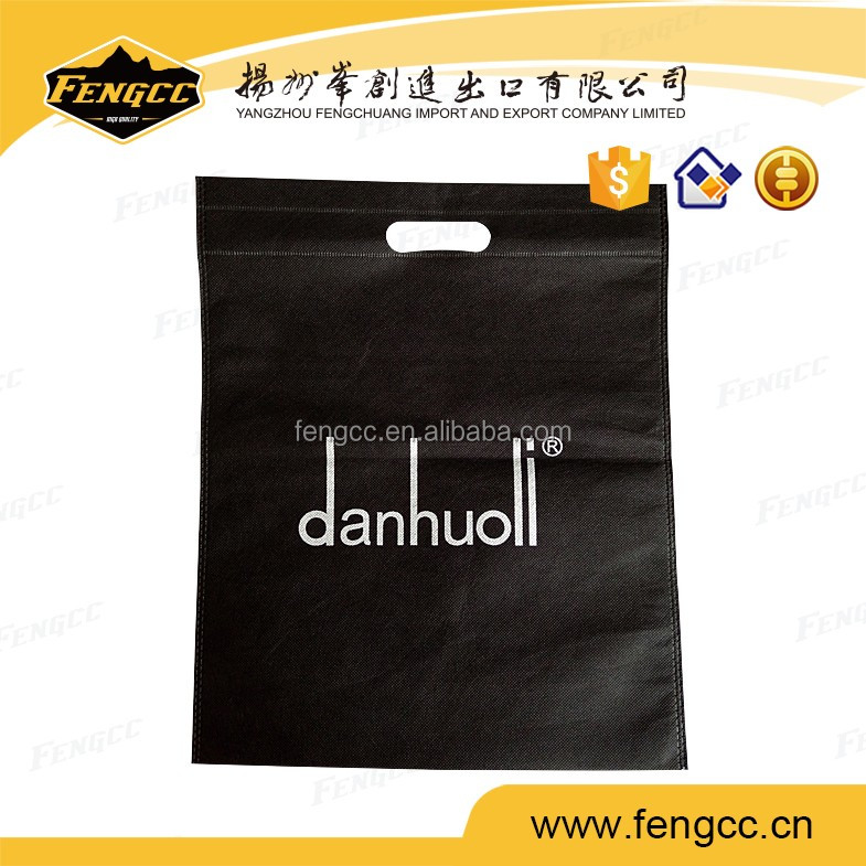 Cheap flat no botton non woven shopping bag for heat sealed craft