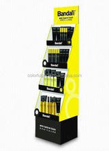 Exhibition show cardboard door display stand/solar power rotating display stand/battery display stand