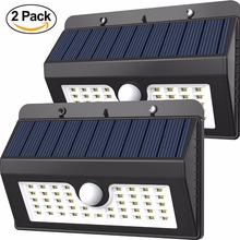 2017 Hot Selling Waterproof 45 LEDS Outdoor Solar Powered LED Motion Sensor Wall Light