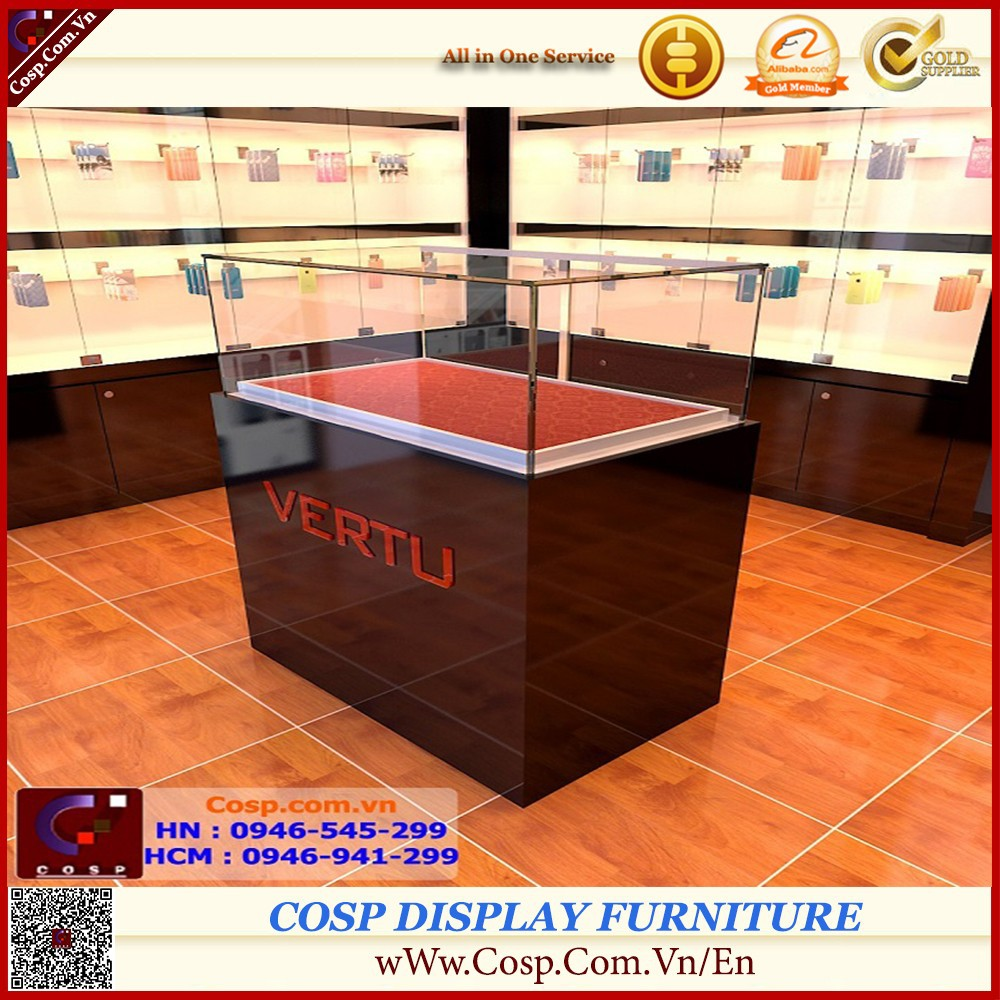 Mobile Display Showcase by MDF Standard