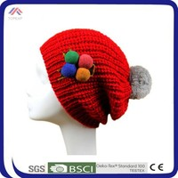personalized knit warm winter hats for women