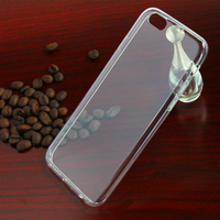 Ultra Thin Smartphone TPU Back Case Cover for Apple iPhone 5 5s , Fashionable Invisible Back case