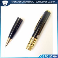 Golden 1280*960 HD Pen Camera Recorder with 140 Minutes Working TIme Continue