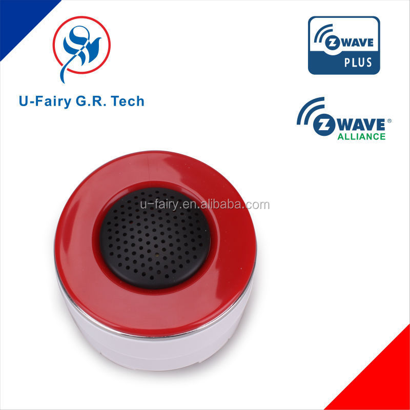 2015 NO.1 CE passed IOT smart home gateway home security DC 5V/1A sensor siren
