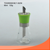 wholesale 85/95ml clear glass grinder bottle glass mill