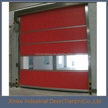 Automatic Plastic Noiseless Fast red bifold door