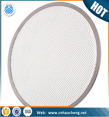 14 16 20 24 inch aluminum wire mesh tray barbecue grill pizza screen