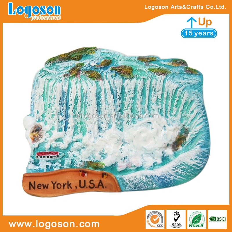 New Design Resin America Souvenirs Niagara Falls USA Canada Magnet Handmade Collectibles 3D Refrigerator Magnets