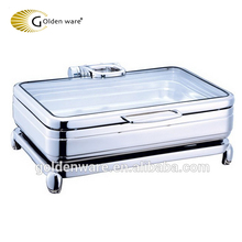 Golden Ware 6L China new stainless steel buffet chafing dish for party use