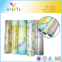 50-100mic colorful transparent pvc self adhesive film