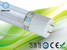 nanotechnology products t5 in t8 fluorescent lamp ,replace led