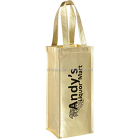 Cheap useful non woven packing bag for wine