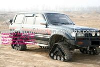 Chinese ATV/SUV parts 4x4 rubber trake conversion system kits
