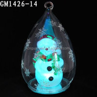 LED Electric Christmas Inflatable Snow Globe