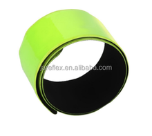 Outdoor Cycling Running HIGH VISIBILITY Reflective Safety Strap Snap Arm Band Armband Bracelet