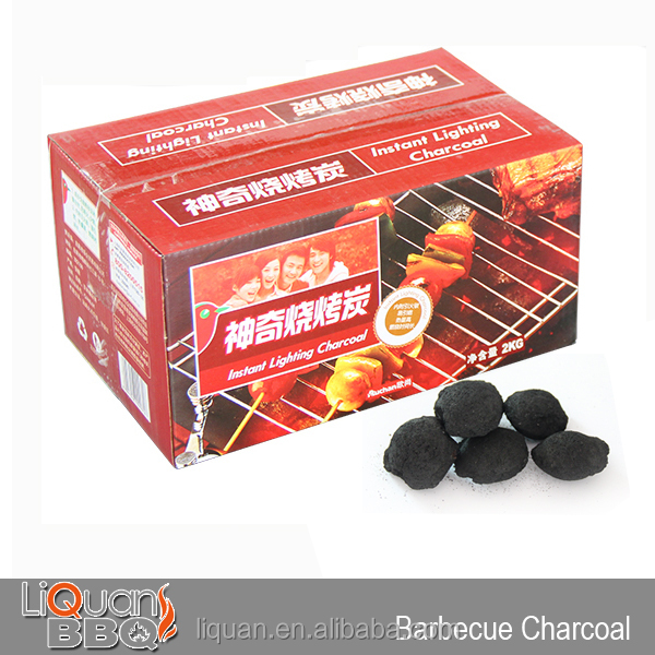2KG Wood BBQ Charcoal Briquette Smokeless Charcoal Manufacturing Plant